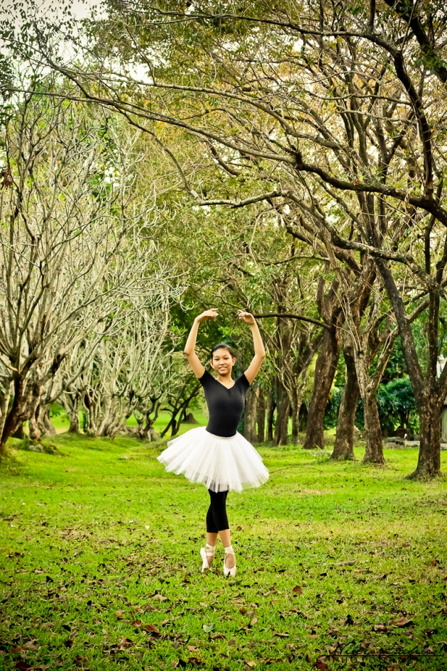 The Ballerina Who Went Outdoors